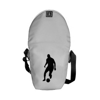 Soccer Player Courier Bags