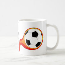 Soccer player-mug coffee mug
