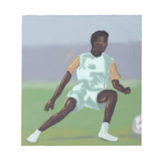 Soccer Player, Notepad