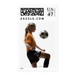 Soccer player postage