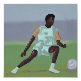 Soccer Player, Poster