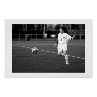 Soccer Player Posters