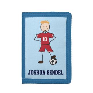 Soccer Player Soccer Position Boys Wallet