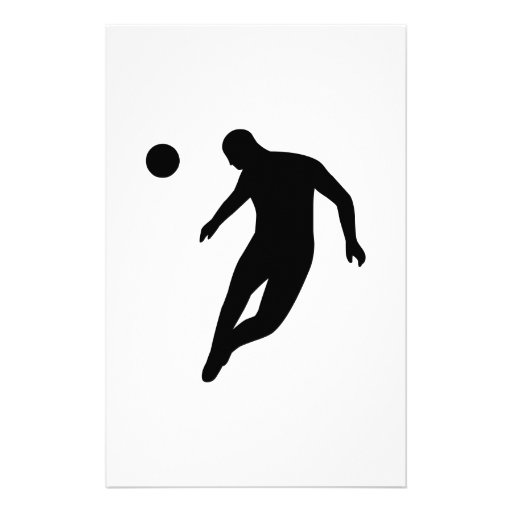 Soccer Player Stationery