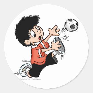 Soccer Player Sticker