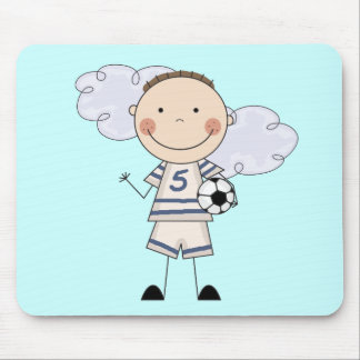 Soccer Player T-shirts and Gifts Mouse Pad