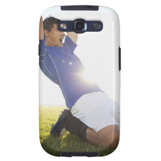 Soccer player throwing ball galaxy SIII cases