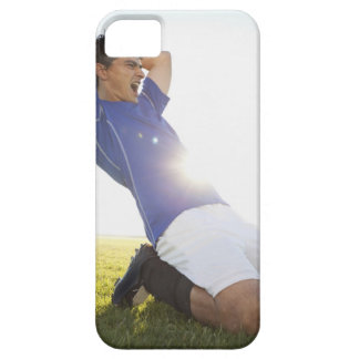 Soccer player throwing ball iPhone 5 covers
