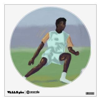 Soccer Player Wall Sticker