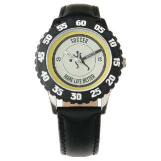 Soccer Player Wrist Watch