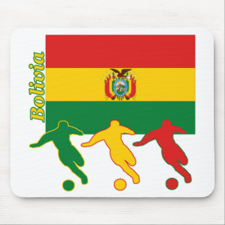 Soccer Players - Bolivia Mousepads