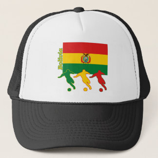 Soccer Players - Bolivia Trucker Hat