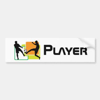 Soccer Players Bumper Sticker