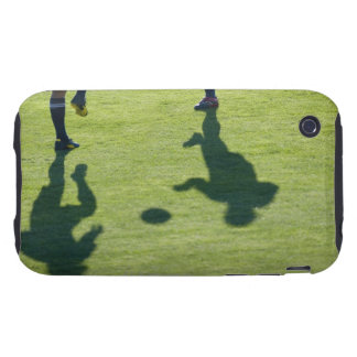 Soccer players doing drills. tough iPhone 3 case