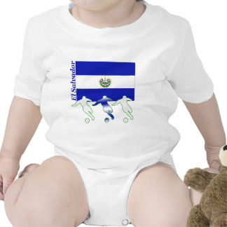 Soccer Players - El Salvador Romper