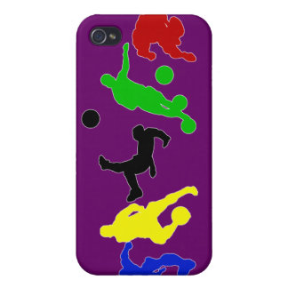 Soccer players   football sports fan iPhone 4/4S case