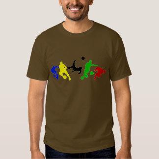 Soccer players   football sports fan tee shirt