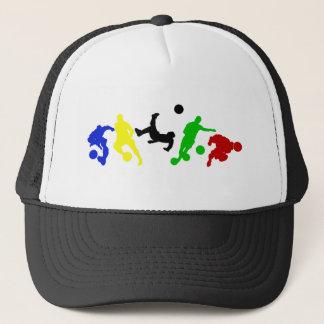 Soccer players   football sports fan trucker hat