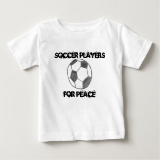 Soccer Players For Peace Baby T-Shirt