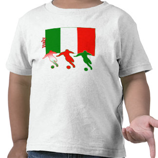 Soccer Players - Italy Tshirts