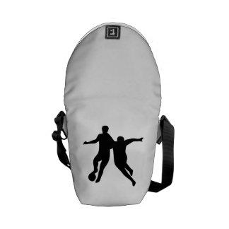 Soccer Players Messenger Bags