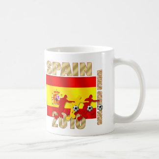 Soccer players Spain 2010 Bend it Futbol Art Coffee Mug