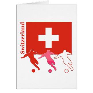 Soccer Players - Switzerland Card