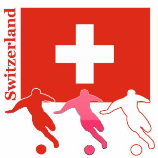 Soccer Players - Switzerland Statuette