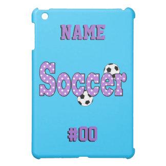 Soccer Polka Dots Case For The iPad Mini