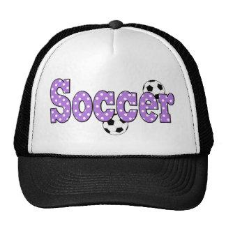 Soccer Polka Dots Trucker Hat