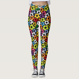 Soccer Pop Fashion Leggings