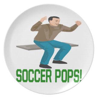 Soccer Pops Plate