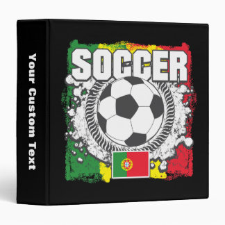 Soccer Portugal 3 Ring Binder