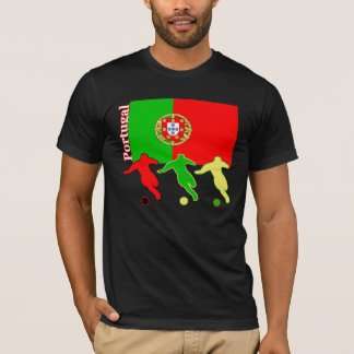 Soccer Portugal Dark T-Shirt