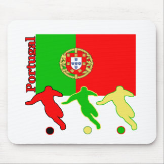 Soccer Portugal Mouse Pads