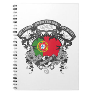 Soccer Portugal Notebook