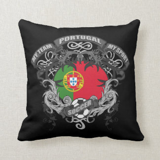 Soccer Portugal Throw Pillows