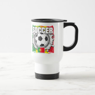 Soccer Portugal Travel Mug
