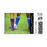 Soccer Postage Stamp