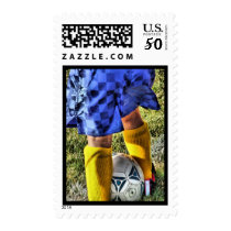 Soccer Postage Stamps