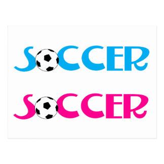 Soccer Post Card