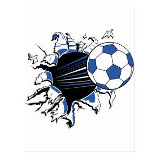 soccer postcards