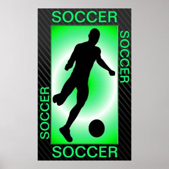 """Soccer Poster 24""""x39"""""""