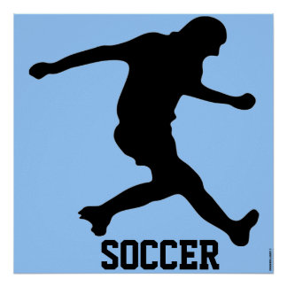 SOCCER POSTERS - SPORTS - FUTBALL - WALL DECOR