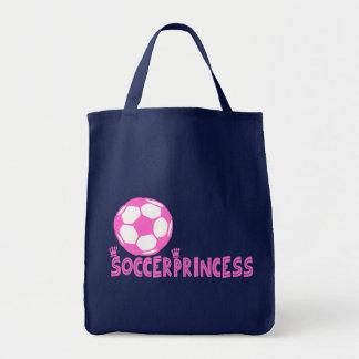 Soccer Princess 2 side Tote Bag