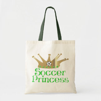 Soccer Princess Canvas Bag