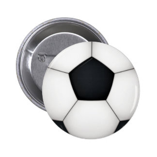 Soccer print close up button