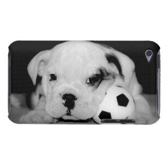 """Soccer Puppy"" English Bulldog iPod Touch Case"
