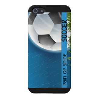 Soccer - Rain or Shine Covers For iPhone 5