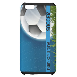 Soccer - Rain or Shine Cover For iPhone 5C